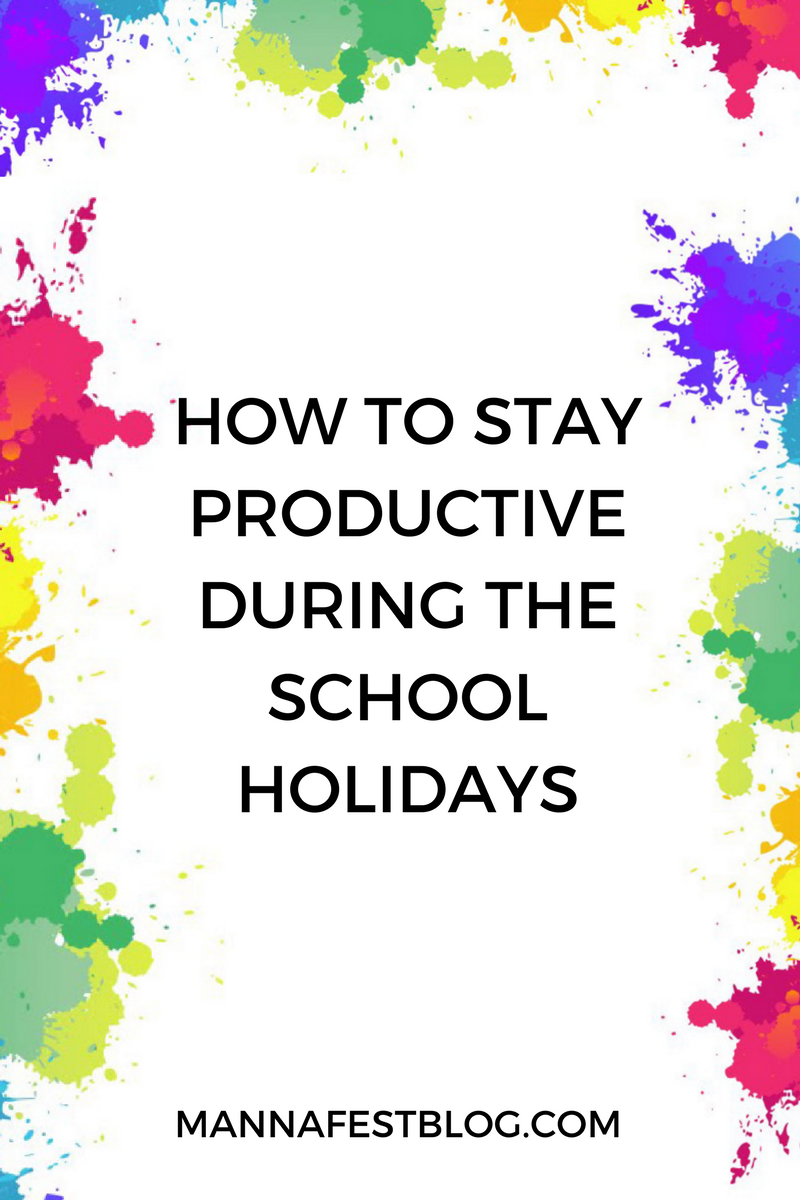 How to Stay Productive in the Holidays